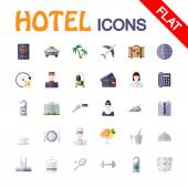 Hotel service icons