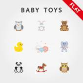 Baby toys Cute little animals