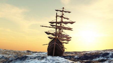 Image of a sailing boat...