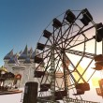 Image of amusement park...