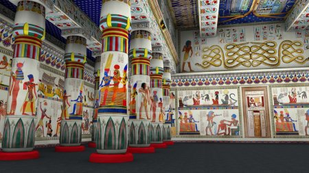 3D CG rendering of ancient heritage