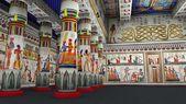 """Постер, картина, фотообои """"3D визуализация cg древнего наследия"""""""