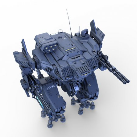 Photo for Image of battle robot. - Royalty Free Image