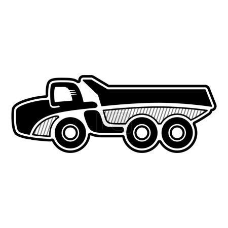 Articulated dump truck