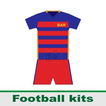 football kits. Barcelona