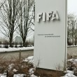 Постер, плакат: Zurich Switzerland February 17 2015 FIFA Headquarters in Zurich