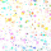 dots colored flower