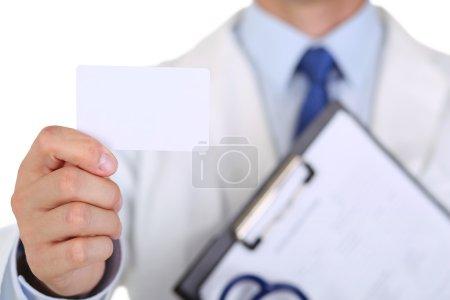 Male medicine doctor hand
