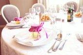 Krásné svatební stůl