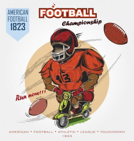 american football humor