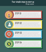 UI for start up infographic