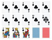 Playing Cards - Clubs Set