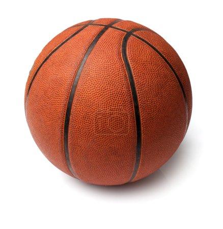 Photo pour Ballon de basket - image libre de droit