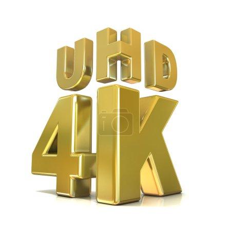 Ultra HD (high definition) resolution technology. 4K concept