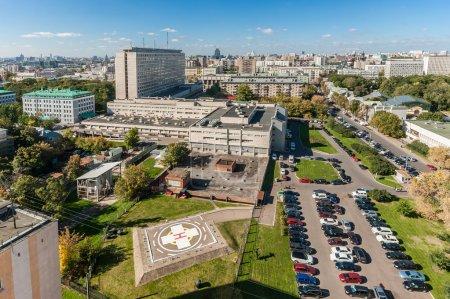 Photo pour Institut de recherche pour Ambulance eux. Sklifosovsky NV - image libre de droit