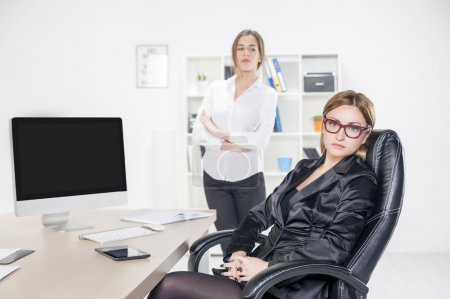 Business woman in office environment