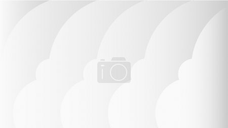Wallpaper 1080 p, right clouds in style material design