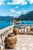 Jars on the terrace