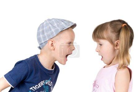 children cry