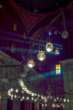 Mosque of Mohammed Ali (Alabaster Mosque). Egypt, Cairo
