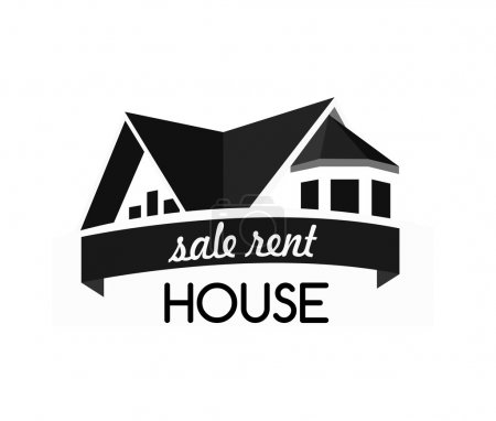 House logo design template