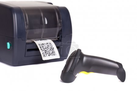 Label  Printer and  Wireless Barcode Scanners