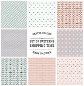 Set of Shopping Time Patterns 2