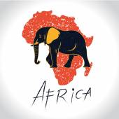 Africa and Safari with the elephant logo 2