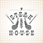 Restaurant grill and barbecue menu steak house meat and a spri