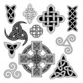 Celtic folk ornament