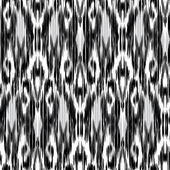 Seamless  Ikat Pattern Abstract black and white background for textile design wallpaper surface textures