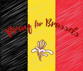 Belgium flag design elements