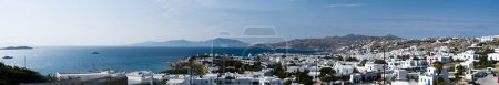 Panoramic View of Mykonos