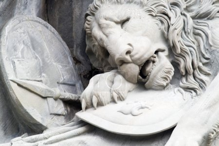 """Monument """"The Dying Lion"""""""