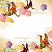Japanese motif background