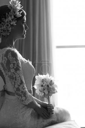 beautiful gorgeous stylish bride