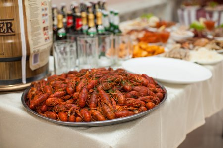 wedding reception feast table