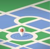 Map pin pointer