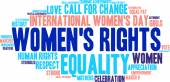 Womens Rights Word Cloud