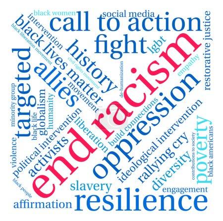End Racism Word Cloud