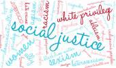 Sociální spravedlnost slovo mrak