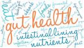 Darm-Gesundheit-Wort-Wolke