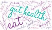 Gut Health Word Cloud