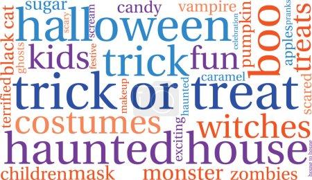 Halloween Word Cloud