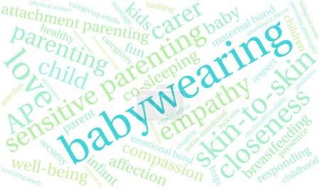 Baby Wearing Word Cloud