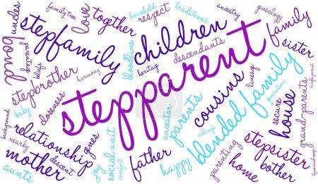 Stepparent Word Cloud