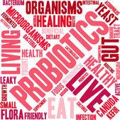 Probiotics Wort-Wolke