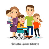 Family with special needs children