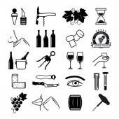 Ochutnávka vína ikony