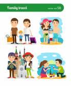 Emberek családi utazás